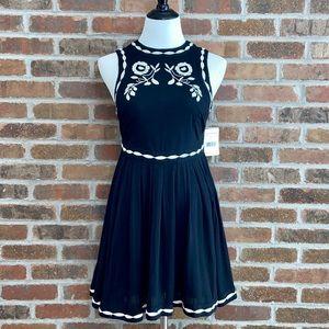 NWT Free People Boho Mini Dress Size 2